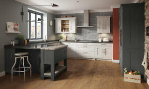 Fitzroy Painted (Second Nature) Kitchen units & doors Rigid Built in 7 colours