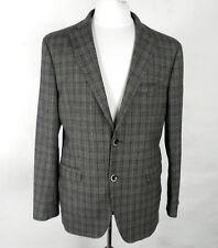 Italian Mens Prince of Wales Check Wool Jacket  by Moss 1851   Chest 42 inch