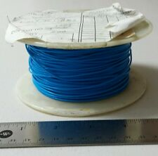 ( 25 FT ) Harbour Industries M16878/4BGE6 20Awg Blue Cable Wire 600V 19 SPC