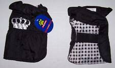 Crown jacket coat for Dog XS Extra Small NWT King  Queen Puppy