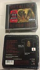 Metallica – Some Kind Of Monster - CDEp USA Ltd Ed + T-Shirt L sized - SEALED