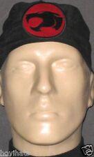 THUNDERCATS LOGO BLACK SCRUB HAT  / RARE / FREE CUSTOM SIZING!