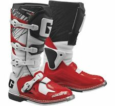 Gaerne Fastback Endurance MX Offroad Boots Red/White