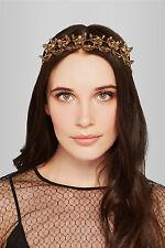 NWT Erickson Beamon *RARE* Ringtone gold-plated Swarovski crystal headpiece $980