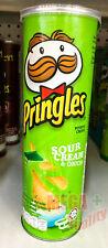 Pringles Sour Cream And Onion Flavored Potato Chips Snack 107 g.