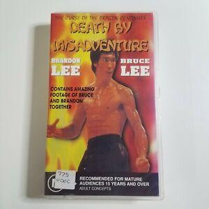 Death by Misadventure | VHS Movie | 1993 | Martial Arts | Bruce Lee, Brandon Lee