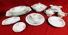 H & C Heinrich Selb Germany Bavaria Pattern 16257 85 Piece Porcelain China Set