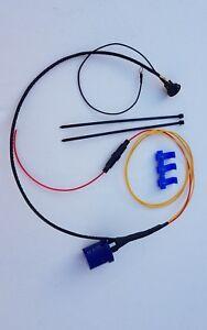 Bike Trike hazard lights for MOT, full kit. for aftermarket LED indicators