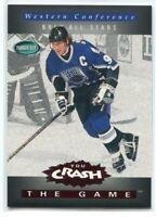 1994-95 Parkhurst Crash the Game Red 28 Wayne Gretzky
