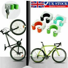 2 X Bicycle Wall Mount Hook Cycle Parking Rack Road MTB Bike Buckle Stand Holder