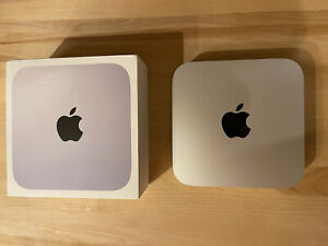 Apple Mac mini (256GB SSD, M1, 8GB) Silver - MGNR3LL/A (November, 2020)