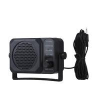 Communication External Speaker Car Amplifier 2-way Radio Black For Motorola ICOM