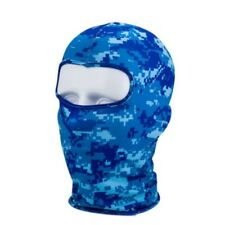 Urban Grey Camo Nylon Balaclava Ninja Swat Face Mask Liner Real Hunter Biker