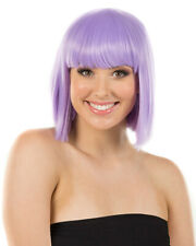 Fashion Deluxe Pastel Lavender Bob Wig One Size