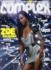ZOE SALDANA  ,EMINEM [ COMPLEX MAGAZINE ] DEC/JAN 2010  BRAND NEW UNREAD
