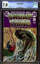 Swamp Thing # 1 CGC 7.0 OW/W (DC, 1972) Origin of Swamp Thing