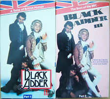 THE BEST OF THE BBC: BLACK ADDER III ~ PART 1 & 2 – VHS VIDEOS   L@@K!