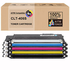 4 Toner für Samsung Xpress C410W C460W C460FW CLP-365 CLX-3300 CLX-3305 CLT-406S