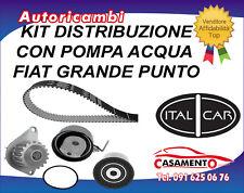 KIT DISTRIBUZIONE CON POMPA ACQUA FIAT GRANDE PUNTO EVO 1.2 48KW DAL 10/2009 ->