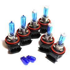Mazda 6 GH H9 H11 H11 501 55w Super White Xenon High/Low/Fog/Side Light Bulbs