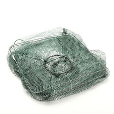 Crab Fish Crawdad Shrimp Minnow Fishing Bait Trap Cast Dip Net Cage Chic  AB