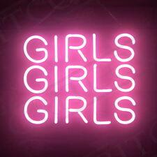Three Girls Home Room Artwork Lamp Beer Bar Decor Poster Neon Light Sign