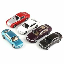 5 Painted Model Cars Building Train Street Park Road Scenery Layout 1:50 O Scale