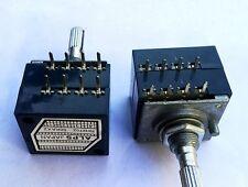 100K ALPS Metal Shaft Type RK27 Potentiometer POT 8pin Knurled split shaft 6mm