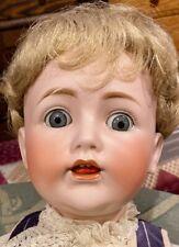 """19"""" Antique C1910 Kestner 257 Character Toddler Doll w/Side Hip Body"""
