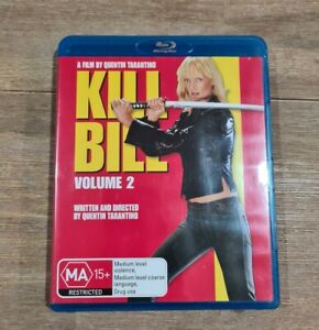 Kill Bill : Vol 2 (Blu-ray, 2008) - Region B - Like New
