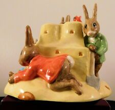 "Royal Doulton Bunnykins ""Sand Castle Money Box"" Db228"