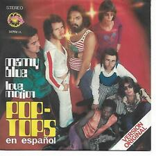 """POP-TOPS 7""""PS Spain 1971 Mamy Blue ( In Spanish )"""