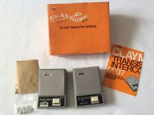 More details for vintage 1960s  electronics claymore de luxe transistor intercom new boxed