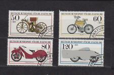 BRD 1983 Stamped No. 1168 - 1171 Motorcycles-NSU Daimler Maybach BMW