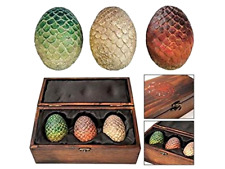Brand New Game of Thrones Dragon Eggs Fantasy Mythical Magic Collectible Set