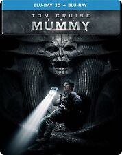 The Mummy (STEELBOOK) (Blu-ray 3D + Blu-ray) (2017) (3D/2D) (All Region) (New)