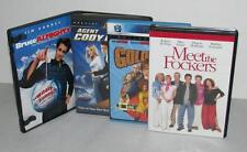 Lot of 4 MEET THE FOCKERS Agent Cody Banks GOLD FINGER & Bruce Almighty DVDs