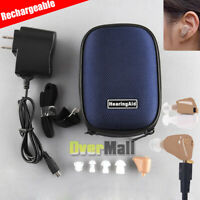 K-88 Digital Rechargeable Mini Invisible In Ear Hearing Aid Sound Amplifier 2020