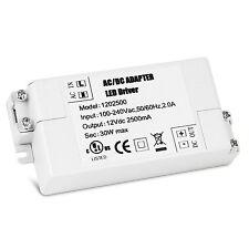 30W LED Driver Power Supply Transformer 240V - DC 12V for MR11 MR16 G4 Led Strip