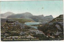 CGH: Postcard, Woodhead Reservoirs,Table Mountain; Cape Town-Scotland,9 Ja 1907