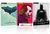BATMAN COLLEZIONE 4K Art Edition 3 Film (9 BLU-RAY 4K Uhd + Blu-ray) DIGIPACK