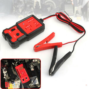 12V Electronic Automotive Relay Tester Tool For Cars SUV Auto Battery Checker