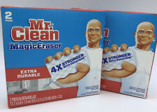 Mr. Clean Magic Eraser Pad, Extra Durable (2 boxes) 4X stronger with durafoam