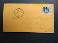 Pennsylvania: Walker 1870 (circa) #114 Cover, Dpo Centre Co