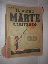 IL VERO MARTE ILLUSTRATO Almanacco 1941 Della Scena Illustrata storia libro di
