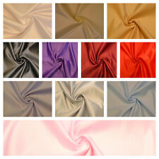 11 Colours  DUCHESS BRIDAL SATIN prom wedding dress fabric heavy material 150cm