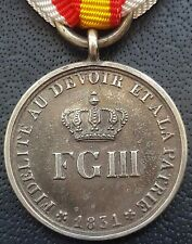 More details for ✚8961✚ german prussian pre ww1 neufchâtel commemorative medal 1832