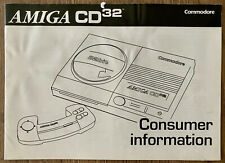 Amiga CD ³² - Consumer Informations, ³², Commodore