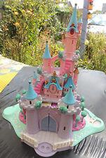 ♥ 1995 Polly Pocket Disney Cendrillon Cinderella Wedding Palace Castle LIGHT ok