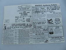 The Knuth Co. Harley Davidson Milwaukee Wisconsin Brochure Flyer Poster JFK